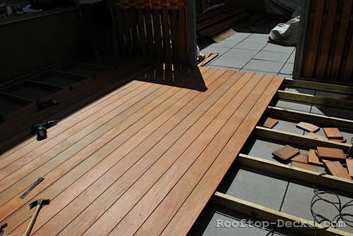 Rooftop decks photo gallery for Build best construction